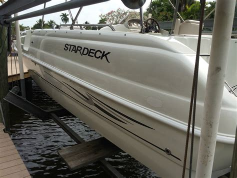 stardeck boat stardeck 209 travis edition deck boat 2002 for sale for