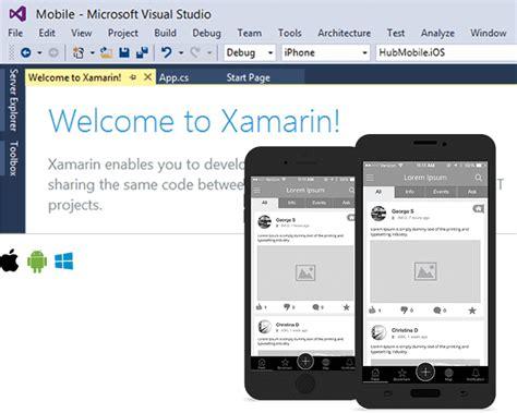 xamarin layout performance hire cross platform mobile app development company india
