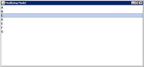 event borderlayout implements listdatalistener listdatalistener 171 swing