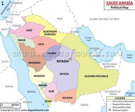 saudi arabia political map buy saudi arabia political map