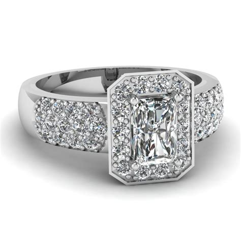 Classic Halo Ring 1197 find radiant cut engagement rings fascinating