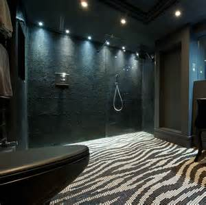 Small Bathrooms Design bisazza decorations zebra