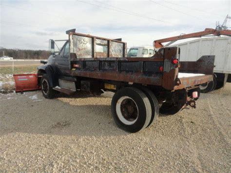 ford plow trucks spreader trucks  sale  trucks  buysellsearch