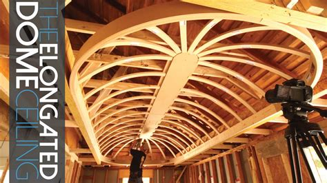 dome ceiling construction elongated dome ceiling