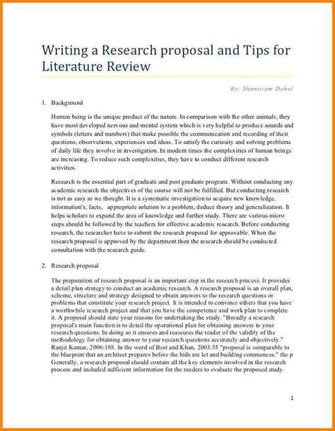 Writing A Literature Essay by 7 Literature Review Exle Template 2017