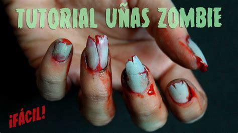 tutorial de uñas instagram halloween nailistas nail art paso a paso