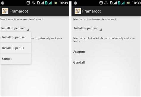 how to use framaroot apk how to root android without pc 3 unique methods