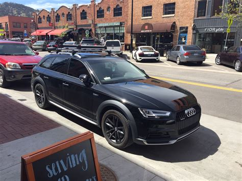 murdered out audi a4 blacked out allroad audiworld forums