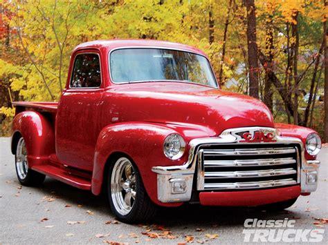gmc track 1955 gmc truck classic trucks magazine