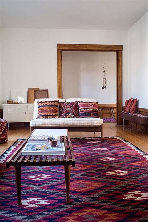 Top 19 Boho Interior Designs For Living Room Easy Decorative Rugs For Living Room