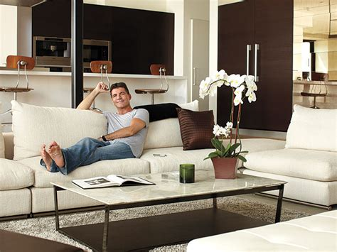 khloe living room homes pictures conrad khloe simon cowell living rooms and room