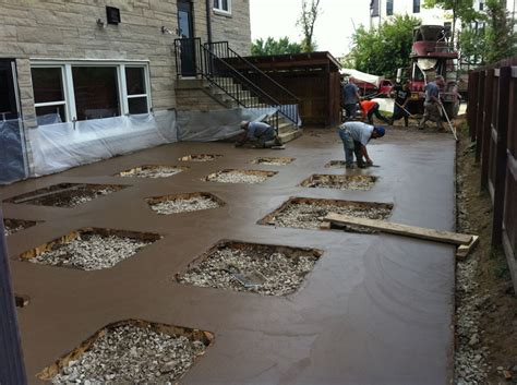 Pouring A Concrete Patio by New Ideas Pouring Concrete Patio With Of The Patio Concept