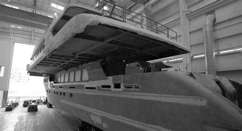 christensen hull 38 completes structure joining stage