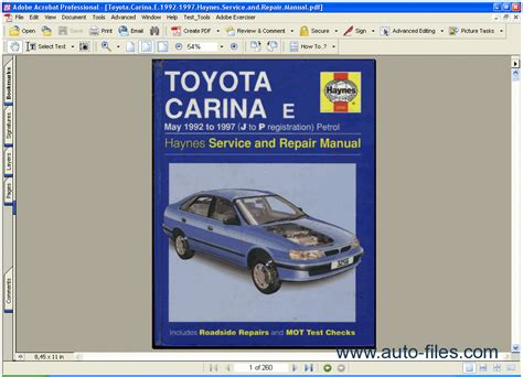 free online car repair manuals download 1992 toyota mr2 electronic throttle control toyota manual carina e 1992 1997 repair manuals download wiring diagram electronic parts