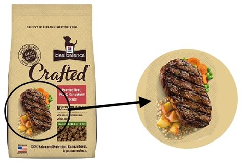 science diet food ingredients speaking to consumers through pictures about pet food