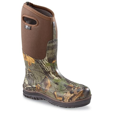 rubber boots hunting bogs men s classic ultra high rubber hunting boots