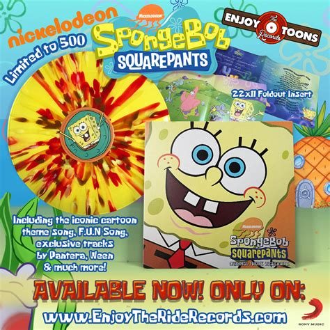 cartoon themes cd spongebob squarepants original theme highlights
