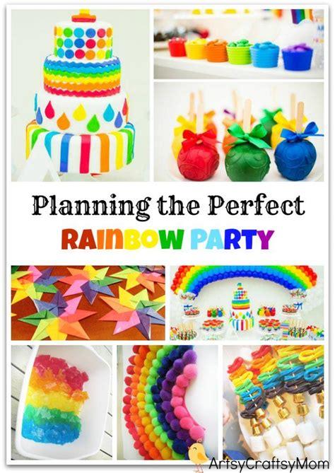 rainbow themed birthday return gifts planning the perfect rainbow themed birthday party