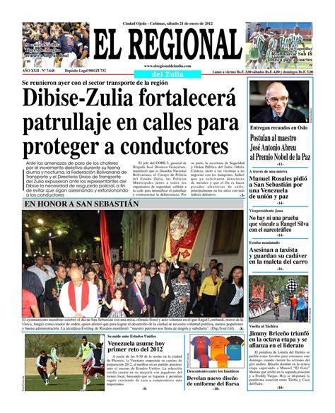 el regonal del zulia calam 233 o el regional del zulia 21 01 2012