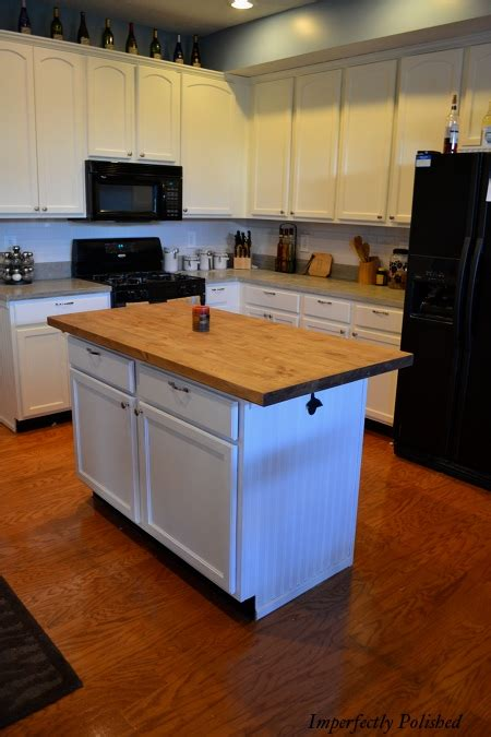 Counter Island | the kitchen island saga