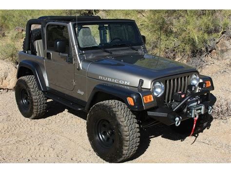 Jeep For Sale San Diego 2004 Jeep Wrangler Rubincon Car Sale In San