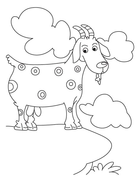 billy goat coloring page free coloring pages of billy goat gruff troll