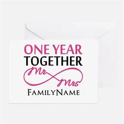 1 year anniversary greeting cards card ideas sayings designs templates
