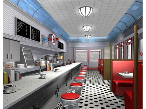 50s interior 50s interiors pinterest interiors 50s diner interior pictures to pin on pinterest pinsdaddy