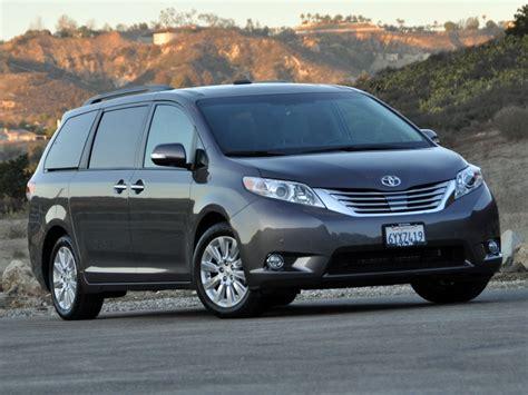 Toyota Minivan 2014 2014 Toyota Test Drive Review Cargurus