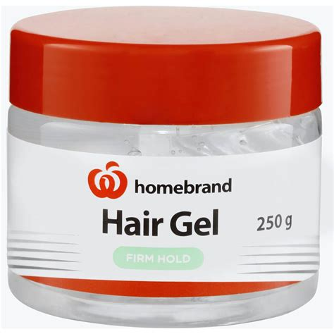 How To Use Hair Gel For Hair by To Use Hair Gel Homebrand Hair Gel Hold 250g Woolworths