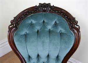 victorian mahogany spoon  ladies chair