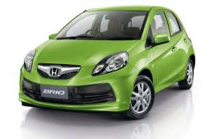 brio honda honda brio production version unveiled in thailand the