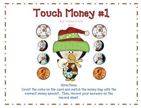 Touch Math Money Worksheets by Pictures On Touch Math Money Worksheets Easy Worksheet