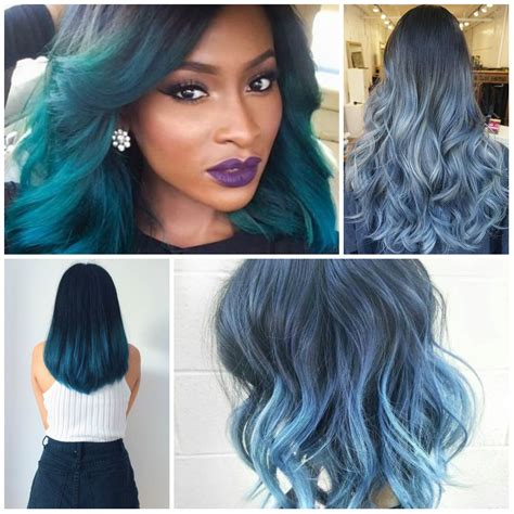 best hair color ideas trends in 2017 2018 page 2 gallery ombre hair color 2017 black hairstle picture