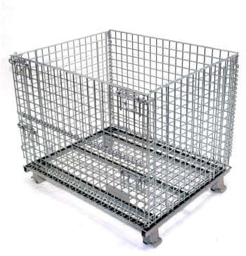 senior wire baskets containers warehouse rack  shelf