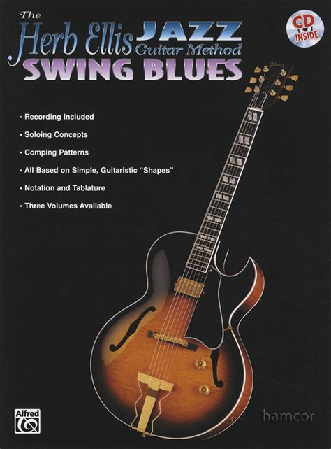 swing blues songs herb ellis jazz guitar method swing blues guitar tab music