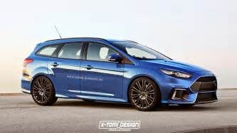 Ford Focud 2016 Ford Focus Rs Rendered As Estate Gtspirit