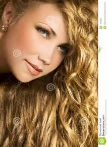 golden hair golden hair stock photography image 12835652