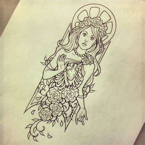 linework tattoo enlightenment design linework by myhedhertz on