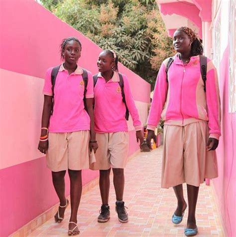 senegal glamour photo instituto investe em aulas de basquete para meninas do