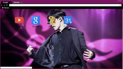 kpop google chrome themes sexy jimin park bts chrome theme themebeta