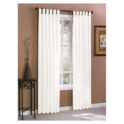white cotton tab top curtains tab top curtains white curtain menzilperde net