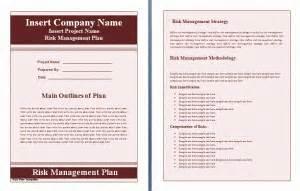 13 Risk Management Plan Templates Word Excel Pdf Templates Third Risk Management Policy Template