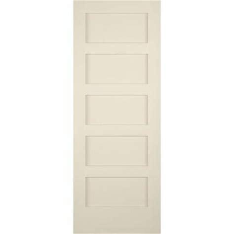 5 Panel Shaker Interior Door Builder S Choice 32 In X 80 In 5 Panel Shaker Solid