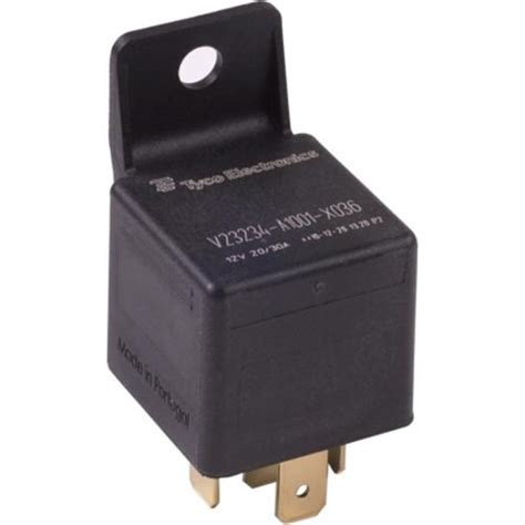 relay with a resistor bosch tyco relay spdt 12 volt 40 with bracket no resistor v23234a1001x036 1 from solid