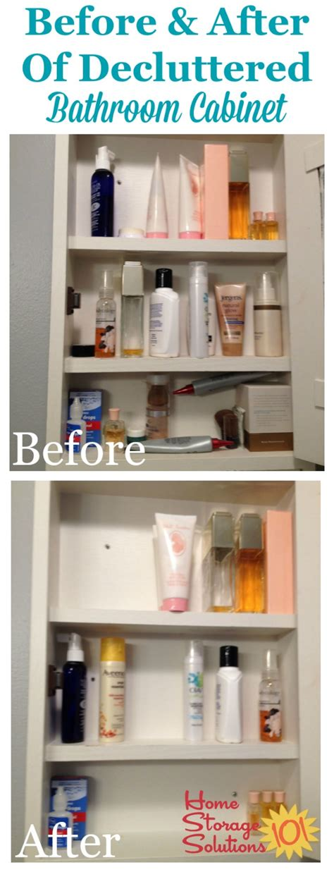 home storage solutions 101 how to declutter bathroom cabinets closet shelves