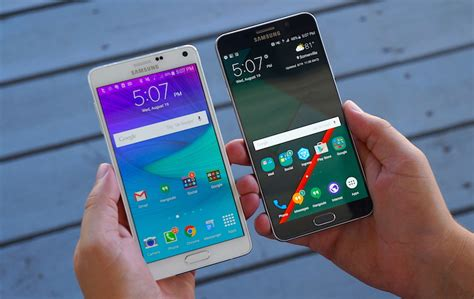 themes galaxy note 4 galaxy note 5 vs galaxy note 4 pocketnow