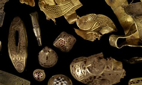 470064 treasures of the anglo saxons anglo saxon treasure hoard casts beowulf and wealthy