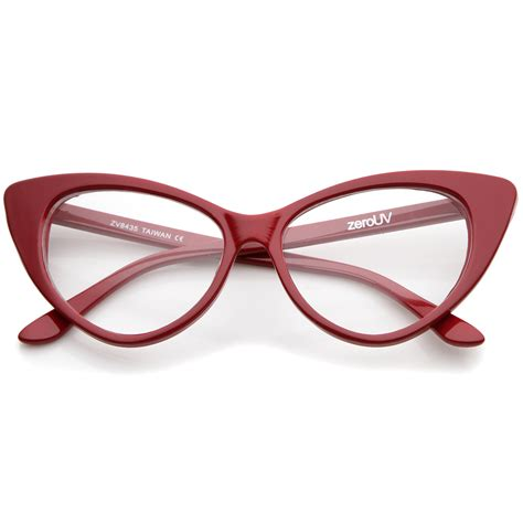 Cat Eye Lens Glasses sunglassla cat eye glasses vintage inspired mod
