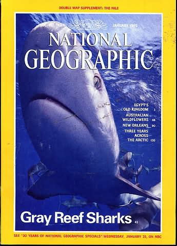 National Geographic January 1995 Product National